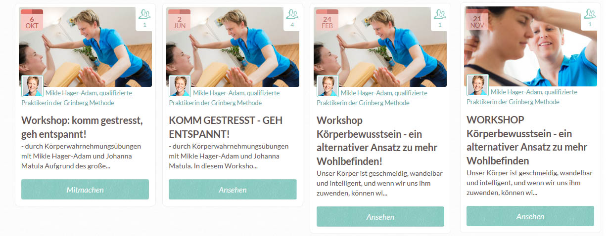 Workshops von Mikle
